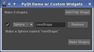Working with custom widgets and signals in Maya PyQt | Dan Ostrov